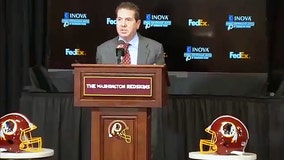 Redskins owner Dan Snyder fumbles Ron Rivera press conference after wishing everyone a 'Happy Thanksgiving'