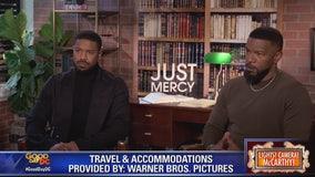 Michael B. Jordan, Jamie Foxx star in Just Mercy