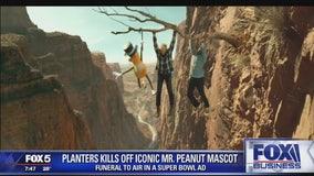 Planters kills off iconic Mr Peanut mascot