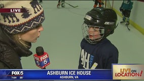 Hockey fun at the Ashburn Ice House