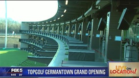 Topgolf officially opens in Germantown