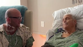 Texas firefighter becomes first living liver donor to save life of retired officer he'd never met