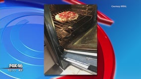 Snakes on a...pizza? NC family finds terrifying surprise in oven