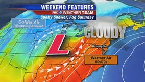 Warm weekend ahead with temperatures near 70 degrees