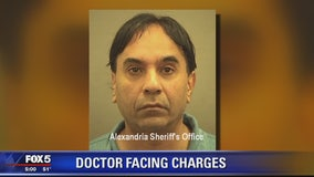 Virginia doctor facing charges