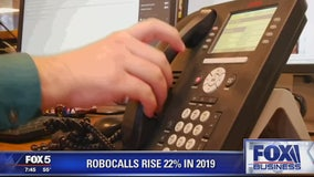 FOX Business Beat: Dow Closes at Record High; Robocalls Rise
