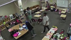 Video captures teacher appearing to abuse special needs boy