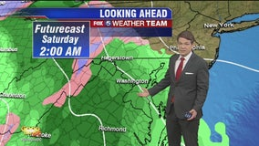 Tuesday Foreast: Looking ahead to a tricky weekend weather system