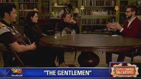 Matthew McConaughey, Michelle Dockery and Henry Golding in The Gentlemen