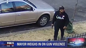 DC mayor weighs in on gun violence