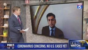 Disease expert discusses coronavirus