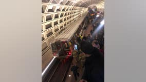 Woman struck by train at Court House Metro Station after experiencing medical emergency, officials say