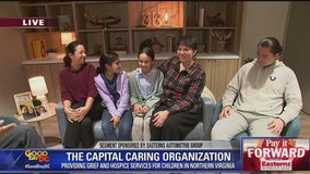 Capital Caring Health helps children cope with the loss of a parent