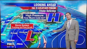 FOX 5 Weather forecast for Tuesday, January 21
