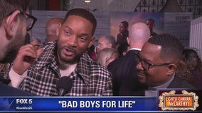 Will Smith, Martin Lawrence and stars of Bad Boys For Life