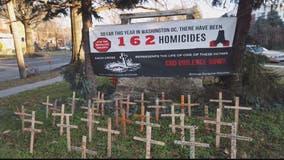 Memorial crosses honor DC's murder victims of 2019