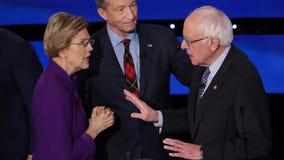 Audio released of post-debate exchange between Warren, Sanders: 'I think you called me a liar on national TV'