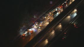 Deadly crash closed lanes of Interstate 95 in Prince William County
