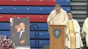 Dematha High School basketball coach Morgan Wootten remembered at funeral