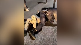Police say video shows assault on Baltimore officer