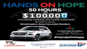 SPONSORED: Washington Area Hyundai Dealers, Children's National, Georgetown Lombardi Comprehensive Cancer Center & Washington Auto Show team up to fight pediatric cancer