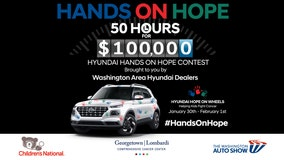 SPONSORED: Washington Area Hyundai Dealers to give $100K to local children's hospitals
