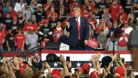 Iran, Democrats, and the Economy: Trump kicks off 2020 election season in Toledo