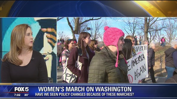 Impact of Women's March on Washington