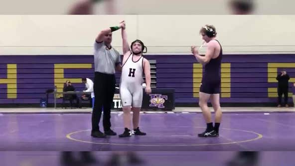 Colorado teen wrestler with Down syndrome wins match on birthday