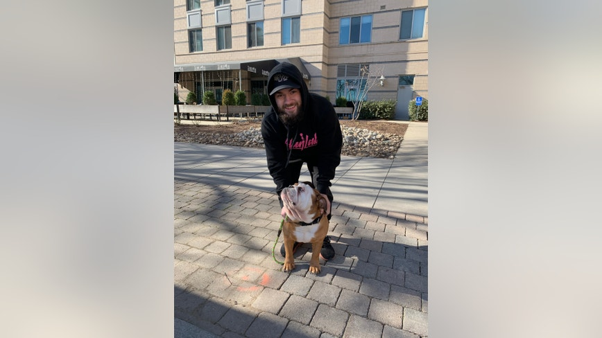 Stolen bulldog reunited with owner in Navy Yard