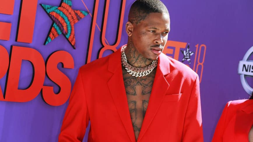 Rapper YG arrested at San Fernando Valley home, booked on robbery charges