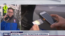 Digital traffic tickets in Virginia