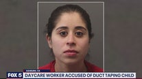 Day care worker accused of restraining child with duct tape