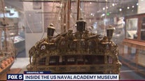 Inside U.S. Naval Academy Museum