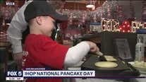 Flipping pancakes for a good cause!