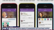 Police warn about dangers of dating apps