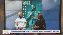 "Felonious Munk discusses his role on ""For Life"" and his comedy shows"