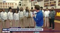 Bishop McNamara HS Girls' Basketball Team takes home the WCAC