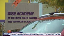 School administrator charged with felony sex crime continues to work