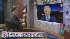Dems prepare for Nevada debate, Bloomberg effect