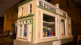 Blessings Box in Southeast DC encourages neighbors to 'take what you need, and leave what you can'