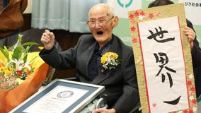 'Keep a smile on your face': 112-year-old in Japan officially named world's oldest man