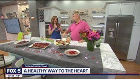 Healthy Valentine's Day dishes from Chef Jonathan Bardzik