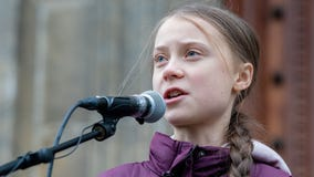 Greta Thunberg says climate change critics are 'desperate' after using sexually graphic image of her