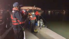 Driver seen 'frantically trying to escape' as vehicle sunk into Potomac River in Georgetown, police say