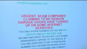 Montgomery County Police investigating case involving potential fake garage door technician