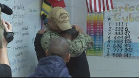 A soldier's surprise return to his siblings in Maryland