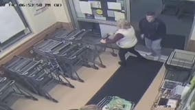 Video: Anne Arundel County syringe attack caught on camera