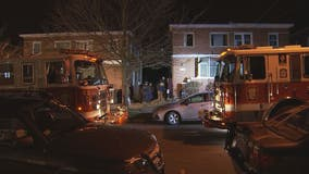 Elderly woman dies after rescued from house fire overnight in Northeast DC