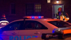 Two dead, woman hospitalized after Brightwood triple shooting